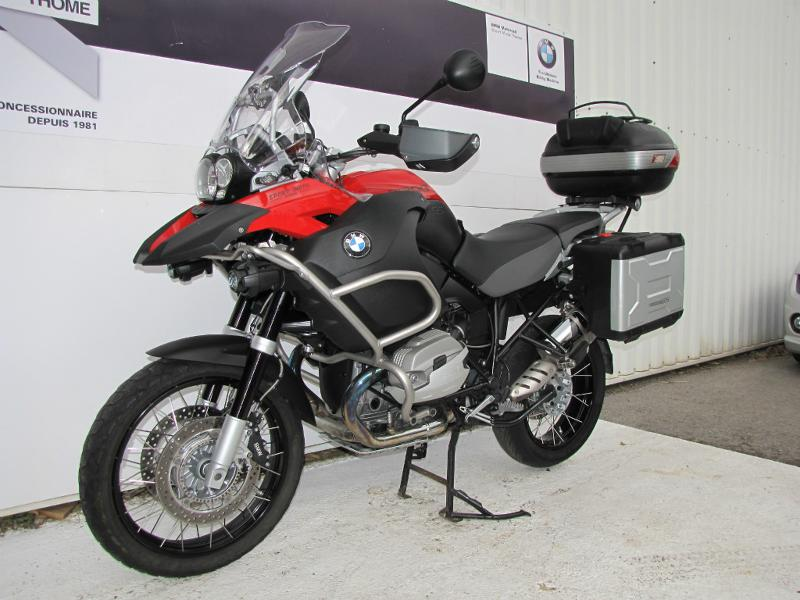 occasion bmw r 1200 gs adventure pack2 pack securit rouge magma 2012 motos d 39 occasions bmw. Black Bedroom Furniture Sets. Home Design Ideas