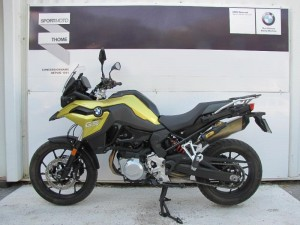 Occasion BMW F 750 GS Pack Confort Touring Dynamic + options Blanc Uni 2018