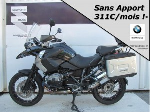 Occasion BMW R 1200 GS + Pack Touring + Confort + Dynamic + Accessoires Triple Black 2016