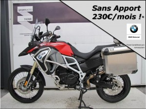 Occasion BMW F 800 GS Adventure A2 Pack Confort + Options Racing red matt 2017