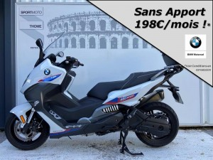 Occasion BMW C 650 Sport + Options Light White Racing Blue Racing Red 2018
