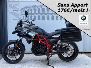 Occasion BMW F 700 GS Pack Confort + Dynamic + Options Gris satin 2017