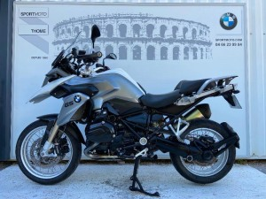 Occasion BMW R 1200 GS Pack Confort + Touring + Surbaissee Blanc 2015