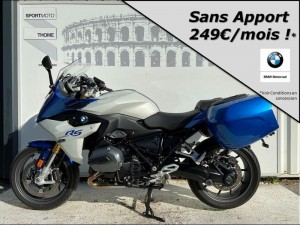 Occasion BMW R 1200 RS Pack Dynamic + Touring + Confort + Options Blanc/Bleu 2017