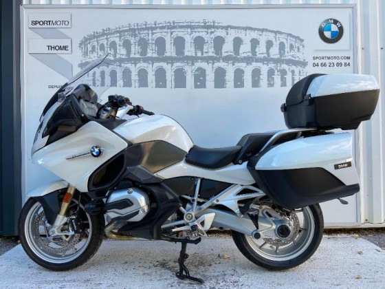 Occasion BMW R 1200 RT Pack Confort + Dynamic + Touring + Options Blanc 2017