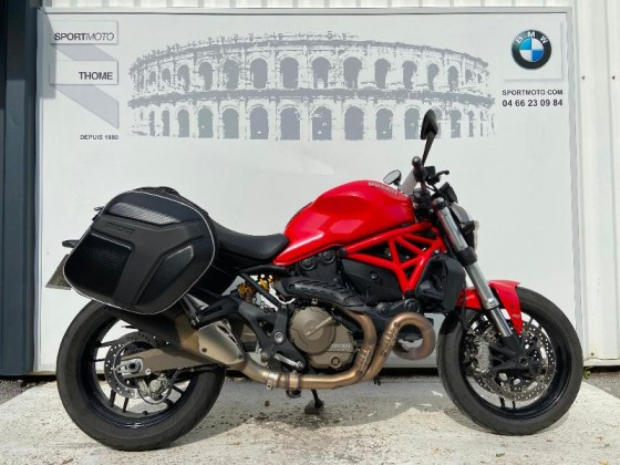 Occasion DUCATI Monster 821 Rouge 2015
