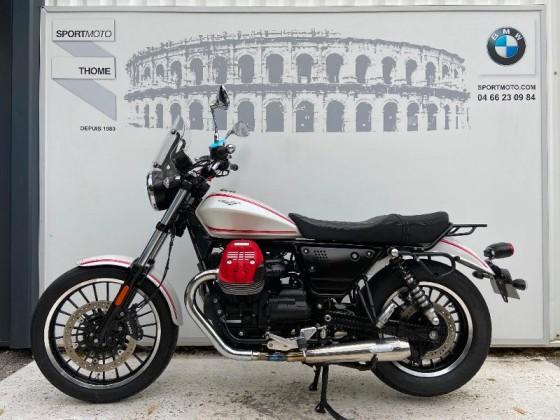 Occasion MOTO-GUZZI V9 Roamer + Options Blanc 2016