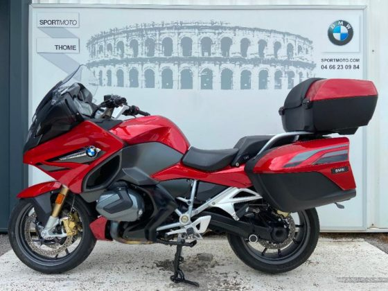 Occasion BMW R 1250 RT Style Sport Pack Confort + Dynamic + Touring + Option Mars red met./Dark slate met. matt 2019